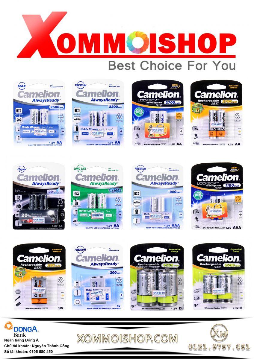 Phân phối pin, sạc camelion, thẻ nhớ chính hãng giá tốt nhất - 2